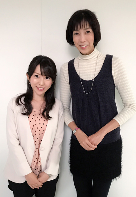 大林素子さんのスポーツ教室の司会で、ご一緒させていただきました☆