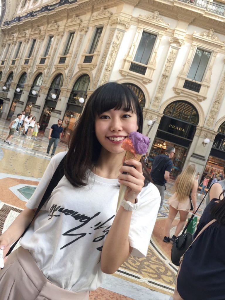 大学の研修で、ファッションの本場・ヨーロッパへ!