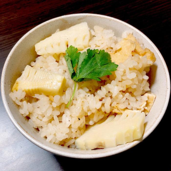 おぎつキッチン🍳季節を全力で感じたい!旬のタケノコご飯🍚