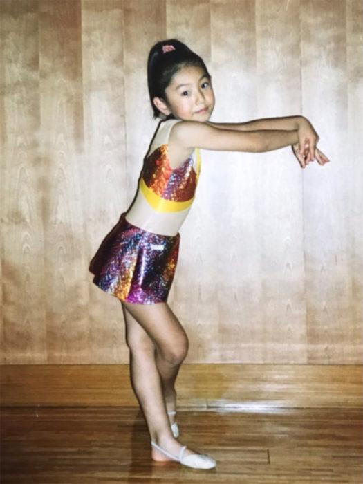 実は私、小学生の頃に新体操を習っていました🤸♀️